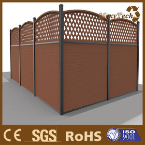 Wood Fencing Europe Design Pool Fence for Yard pictures & photos