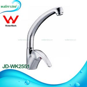 Newest Design Brass Chrome Kitchen Sink Faucet Round Shape Mixer pictures & photos