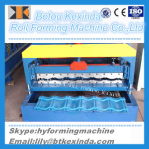 1080 Produce Roof Tile Roll Forming Machine pictures & photos