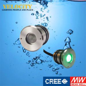 1PCS Ce RGB Stainless Steel Waterproof IP68 LED Underwater Light for Pool pictures & photos