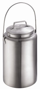Food Grade Stainless Steel Bucket for Storage pictures & photos