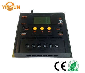 12V/24V 60A Solar Charger Controller pictures & photos