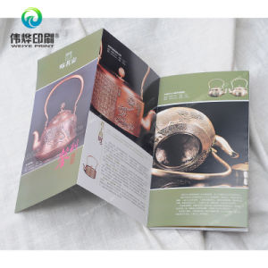 Offset Printing Promotional Folded Booklet pictures & photos