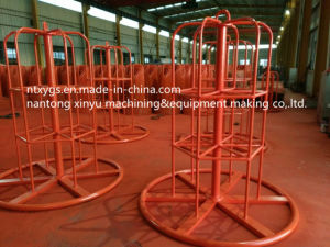 Factory Outlet Red Round Base Carrier for Wire Rod pictures & photos