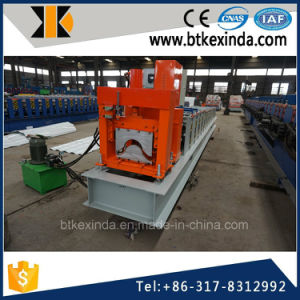 Kxd 312 Aluminum Ridge Cap Roofing Sheet Cold Roll Forming Machine pictures & photos