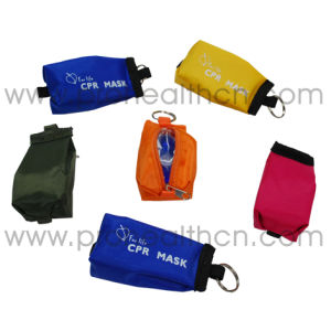 Disposable Pocket CPR Mask with Keychain pictures & photos