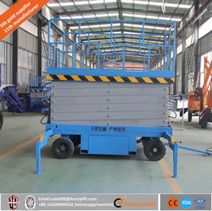 Good Quality Hydraulic Electric Aerial Work Platform Scissor Lift Platform pictures & photos