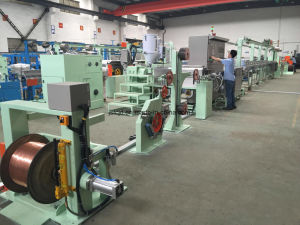 45 High Temperature Building Wire Extrusion Machine pictures & photos