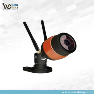 1.0MP Good Signal Two WiFi Cables Waterproof Case IP Camera pictures & photos