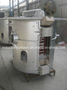 150kg Electric Tilting Gold Brass Aluminum Metal Melting Furnace pictures & photos