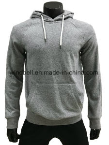 High Quality 100% Cotton Sweat Coat Hoody for Men pictures & photos