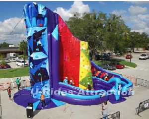 SKY Climb Inflatable Climbing Wall pictures & photos