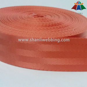 Wholesale 1.5 Inch Orange Red Nylon Seat Belt Webbing pictures & photos