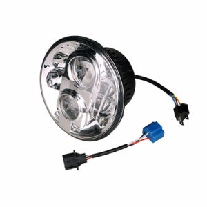 "7"" Inch Black Harley Motorcycle LED Headlight Jeep pictures & photos"