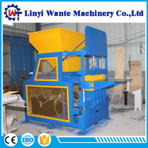 Wt4-10 4PCS/Mold Clay Block/Brick Making Machine for Sale pictures & photos