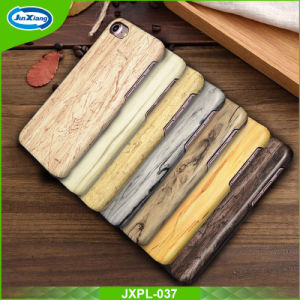 Wood Pattern PC with PU Leather Cell Phone Case for iPhone 7 pictures & photos
