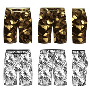 Customize Soft Beach Polyester Breathable Men′s Gym Shorts pictures & photos