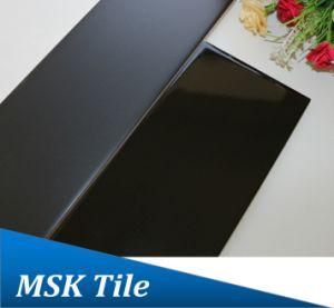 75X300 Black Glazed Subway Ceramic Glaze Tile pictures & photos
