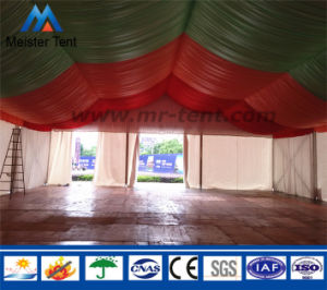 Large Tent with Beautiful Curtains and Lining pictures & photos