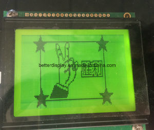 128*64DOT Stn Green/Yellow LCD Module pictures & photos