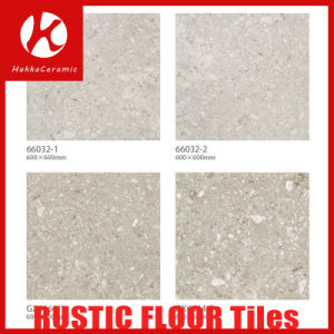 Semi Polished Porcelain Rustic Tile, Light Brown Glazed Floor and Wall Ceramic Tiles pictures & photos