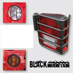 High Quality for Jeep Wrangler Jk Tail Light for Jeep Headlight Parking Lamp Euro Guard pictures & photos