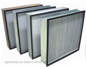 New 0.3microns Fiberglass HEPA Filter, Industrial Pleated Air Filter H13 H14 pictures & photos