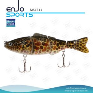 Multi Jointed Life-Like Fishing Lure Bass Bait Shallow Fishing Tackle pictures & photos