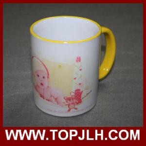 Porcelain Sublimation Ceramic 11oz Border Colorful Mug