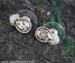 92933 Fashion Eye Zircon Jewelry Earring Studs with Crystals From Swarovski Jewelry pictures & photos