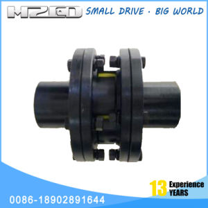 Hzcd Lms Double Flange Plum Shape Elastic Cross Universal Joint Coupling for Woodworking Machinery