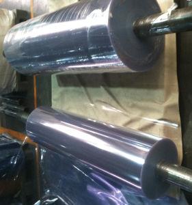 Super Clear and Light Blue Transparent PVC Rigid Sheet pictures & photos