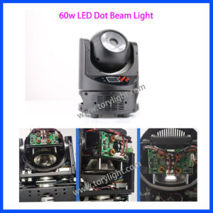 LED Lighting 60W Mini DOT Beam Moving Head Light pictures & photos