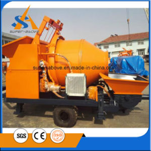 Self-Loading Mixer with Diesel Concrete Pump pictures & photos