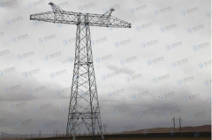 Hot-dip Galvanized Microwave Lattice Tower pictures & photos