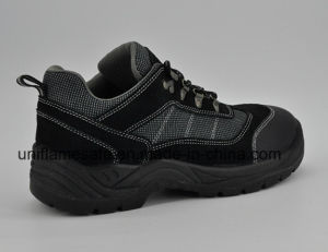 Ufb054 Active Safety Shoes Black Safety Shoes pictures & photos