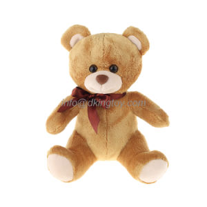 Soft Plush Animal Toys Teddy Bear with Ribbon pictures & photos