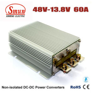 Waterproof 48VDC to 13.8VDC 60A 828W DC DC Buck Converter pictures & photos