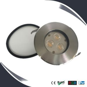 Stainless Steel 9W RGB LED Deck Lights, Undergroung Light, Ingroung Light pictures & photos