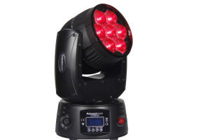 Mini Effect 7*12W LED Zoom Moving Head DJ Disco Stage Lighting pictures & photos