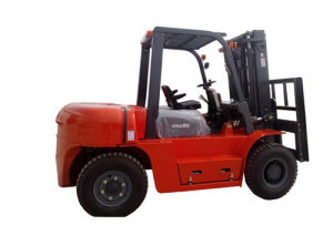 8 Tons Hydraulic Diesel Forklift pictures & photos