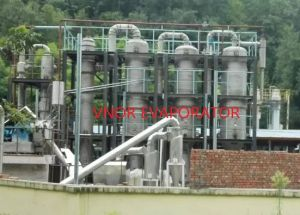 Tri-Effect Forced Circulation Evaporator for Drilling Wastewater