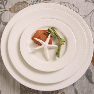 Wholesale Restaurant Cheap Ceramic Dinner Plate