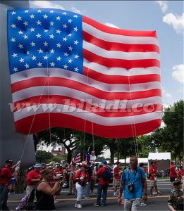 Custom Made Advertising Helium Balloons, Inflatable Helium Flag Balloon for USA pictures & photos