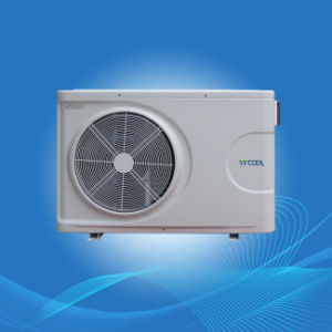 Heat Pump Swimming Pool Heater Air to Water Patented Plastic Shell, Ce, RoHS Approval pictures & photos