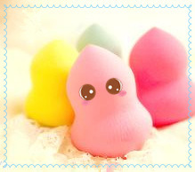 Mini Type Latex Free Polyurethane Makeup Sponge pictures & photos