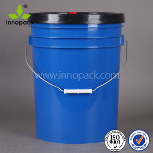 20litre American-Styke Lid with Spout Plastic Bucket pictures & photos