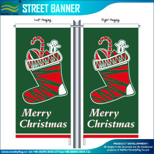Custom Digital Printing Outdoor Street Flying Festival Flags Banner (T-NF02F06029) pictures & photos