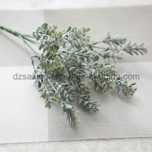 Plastic Leaves Components Artificial Flower for Decoration (SF16925A) pictures & photos