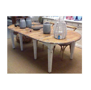 Antique Wooden Extended Table Lwd566 pictures & photos